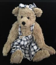 """GANZ College Collectibles EMILY LOU 18"""" Bear with Tag"""