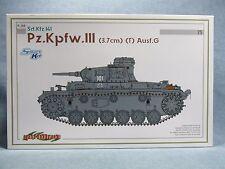 DRAGON Model Kit 6765 - Opened box - Pz.Kpfw.III Ausf G Sd.Kfz.141 - 1:35 Scale