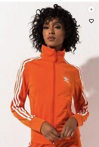 Adidas originals Woman Firebird TT Track jacket Orange. Sz M. NWT