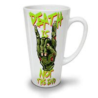 Death Slogan End NEW White Tea Coffee Latte Mug 12 17 oz | Wellcoda