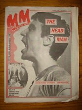 MELODY MAKER 1981 AUG 1 TALKING HEADS NICKS DELTA 5