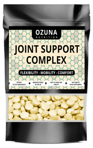 Joint Support Complex Pills Flexibility Mobility Comfort Pain Relief Formula