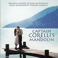 CAPTAIN CORELLI'S MANDOLIN Original Motion Picture Soundtrack CD