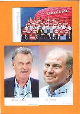 Fußball-Fan-FC Bayern München-Autogrammkarten