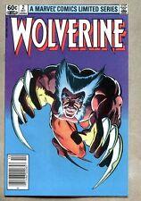 Wolverine #2-1982 vf+ 1st Chris Claremont Frank Miller series 1st Yukio