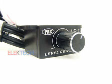 Car Bass Amplifier Remote Level Control Knob Stereo RCA Input & Output PAC LC-1