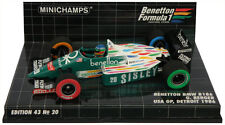Minichamps Benetton BMW B186 #20 USA GP Detroit 1986 - Gerhard Berger 1/43 Scale