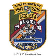 US Army Ranger - Anniversary Patch - Sua Sponte Airborne Recon, Ranger OIF, OEF