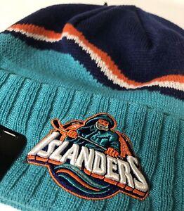 New York Islanders Fisherman Logo New Era NHL Beanie Knit Hat NWT🔥 *PRICE DROP*