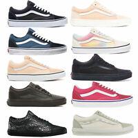 Vans Old Skool Damen-Sneaker Turnschuhe Skate Schuhe Halbschuhe Freizeitschuhe
