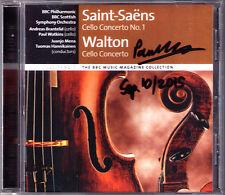 Paul Watkins SIGNED Walton Saint-Saens Cello Concerto Andreas Brantelid MENA CD