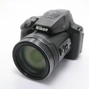 [Mint] Nikon COOLPIX P900 Black Digital Camera 16MP 83x Optical Zoom form Japan
