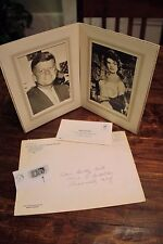 Original JFK and Jacqueline Onassis Portraits (original stamps, envelopes) 1964