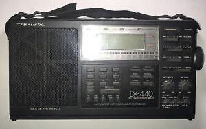 Realistic DX-440 AM/FM 20-221D Direct Entry Communication Receiver Parts Repair