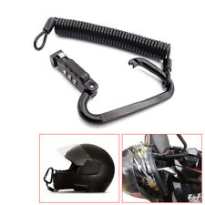 Universal For Motorcycle Helmet Combination Lock with TBar Rubber Safe Accessory