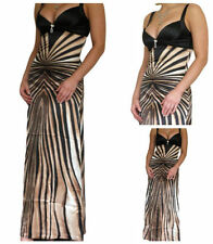 Hand-wash Only Formal Striped Maxi Dresses for Women