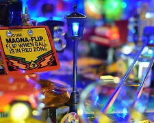 Twilight Zone Pinball Machine Lighted Street Lamp