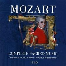 Nikolaus Harnoncourt & And Concent - Mozart : Complete Sac (NEW 13 x CD BOX SET)