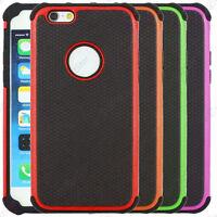 Coque Housse Etui Rigide Silicone Apple iPhone 7 6 6S 6S Plus SE 5S 5 4S 4