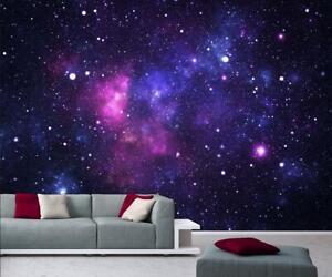 Fototapete Galaxy Tapete Universum Weltall Sterne Galaxie 366x254cm NEU!