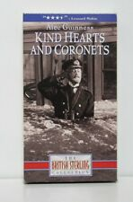 Kind Hearts and Coronets (1949) Vhs Dennis Price Alec Guinness Joan Greenwood