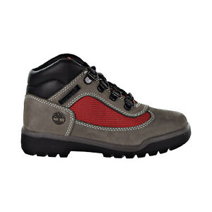 Timberland Field Boot Little Kids' Shoes Grey-Red TB0A1RG1