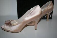 "RSVP ""Starla"" Women's Peep-toe Pumps, Gold Size 9.5"