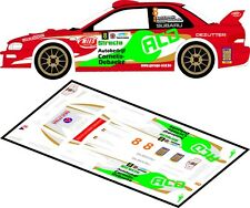 DECALS 1/43 SUBARU IMPREZA WRC - #8 - CORNELIS - RALLYE DU TAC 2012 - D43104