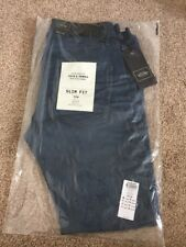 "Jack & Jones RRP £65 Jeans Slim Fit Tim 29"" Waist 30"" Leg Small Blue Denim Low 3"