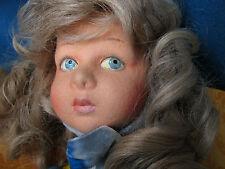 """Superbe, 28"""" Tall, (53cms.) articulé feutre enfant poupée, """"Stefania"""", par LENCI, Tori"""