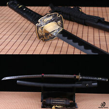 handmade Japanese Samurai Sword Katana 9260 Spring Steel battle ready full tang.