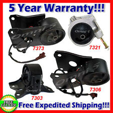 K117 Fit 00-01 NISSAN MAXIMA 3.0L ENGINE & TRANS MOUNT SET w/ SENSORS for AUTO