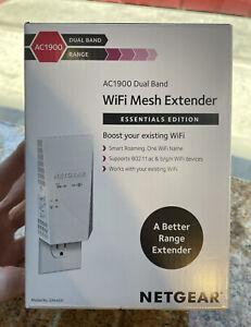 Netgear EX6400 Essential Edition Dual Band WiFi Mesh Range Extender White AC1900