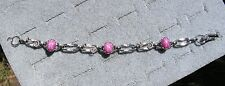 LINDE LINDY PINK STAR RUBY CREATED BRACELET NPM SECOND QUALITY DISCOUNT