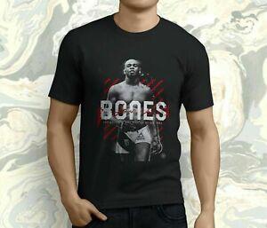 New Popular Jon Jones The BONES Men's Black T-shirt S-5XL