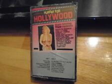 SEALED RARE OOP Hurray For Hollywood CASSETTE TAPE soundtrack MARILYN MONROE '84
