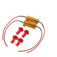 2Pcs Load Resistor 50W 6ohm Fix LED Bulb Hyper Flash Turn Signal Blinker HD