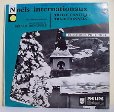 33T 25cm NOËLS INTERNATIONAUX Disque 13 Chants de Noel LUGT RIETVELT G HENGEVELD