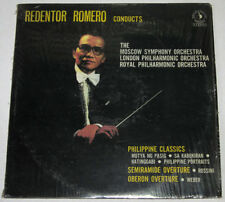 Phil REDENTOR ROMERO Conducts Moscow, London & Royal Orchestra OPM LP Record