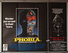 Cinema Poster: PHOBIA/WHEN YOU COMING BACK RED RYDER 1979 (Double Bill Quad)
