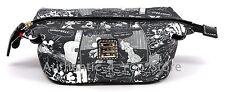 Disney Dooney & Bourke Mickey Minnie Negative Comic Strip Cosmetic Pouch Bag #7