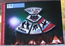 Vancouver 2010 Olympic pin puzzle ULU KNIFE 4 large pins