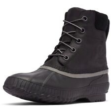 Sorel Mens Cheyanne II Snow Boots Waterproof Insulated Leather Rubber Black 10.5