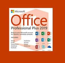 Lifetime Office 2019 Pro Plus 32/64 Bit Genuine key 🔥 Instant delivery🔥