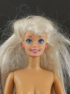 Mattel Barbie 1993 Jointed Body Blonde Hair Nude for Redress/OOAK