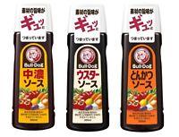 Bulldog, Sauce, 2 kinds, Tonkatsu, Thick & Rich flavor, Japan, 300ml