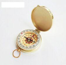 1XNeu Schönen Outdoor Camping Wandern Tasche  Kompass mit Schlüsselring