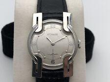 Jaeger LeCoultre Men's White Gold Filled Watch Unique Lugs!!!
