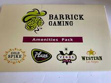 Barrick Gaming Las Vegas Amenities Pack Casino Memorabilia New Unused Vintage