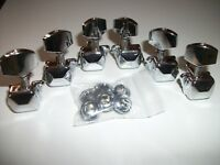 NEW Mécaniques 3x3  semi-closed - chrome - pour guitare SG, Les Paul.